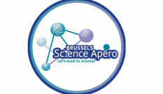 Brussels Science Apero pin